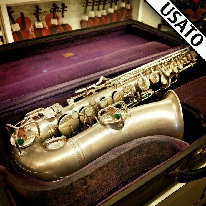 Sax Alto Conn Traditional Sassofono contralto Conn Traditional del 1929 Elkart USA. In garanzia. Ottime condizioni. Con astuccio originale incluso nel prezzo.