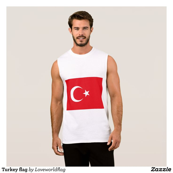 Turkey flag sleeveless shirt - Comfy Moisture-Wicking Sport Tank Tops By Talented Fashion & Graphic Designers - #tanktops #gym #exercise #workout #mensfashion #apparel #shopping #bargain #sale #outfit #stylish #cool #graphicdesign #trendy #fashion #design #fashiondesign #designer #fashiondesigner #style