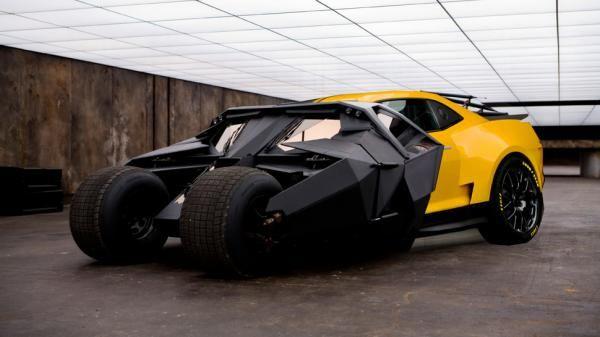 The Next Batmobile Pakai Mobil Chevy Camaro - Vivaoto.com - Majalah Otomotif Online