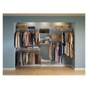 Closetmaid ShelfTrack Wardrobe Kit 2.1x3m White