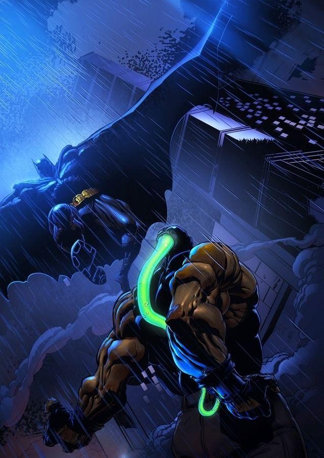 50 Brutales ilustraciones de Bane (Batman)