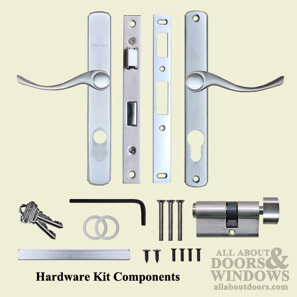 Anderson French Door Lock Parts | Andersen Storm Door Hardware, Estate  Style   Choose Color