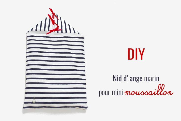 DIY couture // Nid d'ange pour petit moussaillon