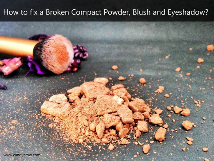 How to Fix Broken Compact Powder, Highlighter, Blush and Eyeshadow? http://www.beautyscoopindia.com/fix-broken-compact-powder-highlighter-blush-eyeshadow/#fixbrokenmakeup #makeup #beautyhack #lifehack