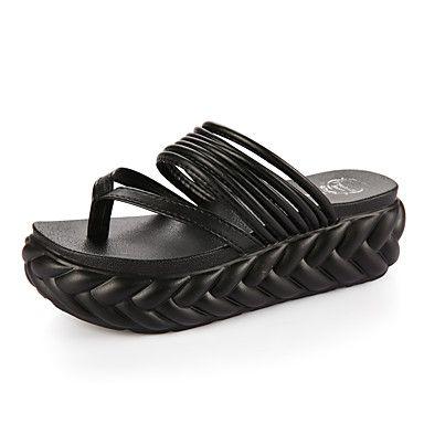 Mujer-Tacón+Plano+Tacón+Cuña-Suelas+con+luz-Zapatillas+y+flip-flop-Vestido+Informal-PU-Negro+Rosa+Blanco+Plata+–+ARS+$+7.178,08