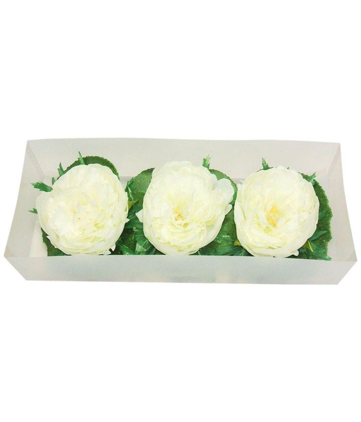 Premsons Potpurri White Candles - 3pcs Floating Flower, http://www.snapdeal.com/product/3pcs-floating-flower/1975374321