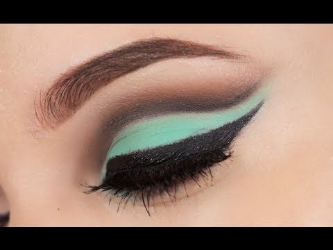 Mint Cut Crease - YouTube