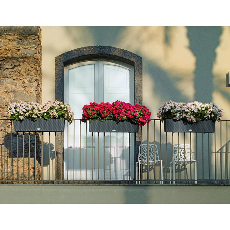 Have to have it. Rectangle Lechuza Balconera Cottage Self-Watering Resin Planter - $48.98 @hayneedle.com