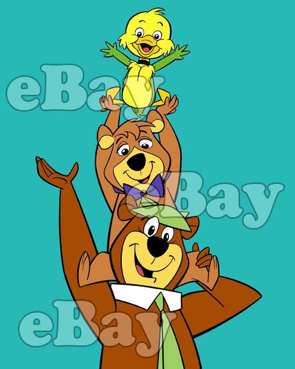 Rare! YOGI BEAR SHOW Cartoon Color TV Photo HANNA BARBERA Studios