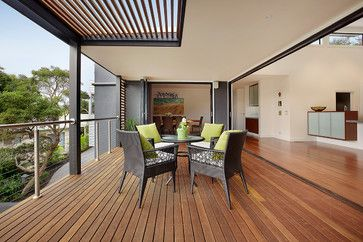 Lanoma Place contemporary-deck