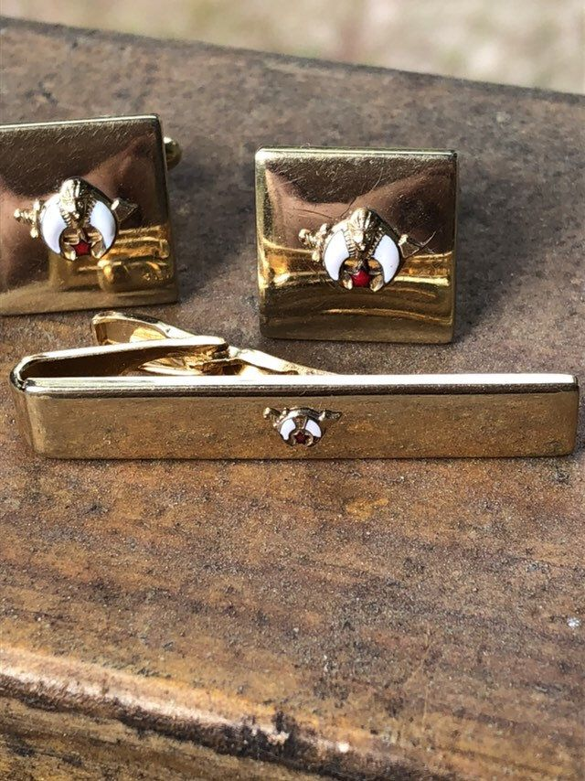 Square Royal Lion Cufflinks Mothers Day I Love Mom