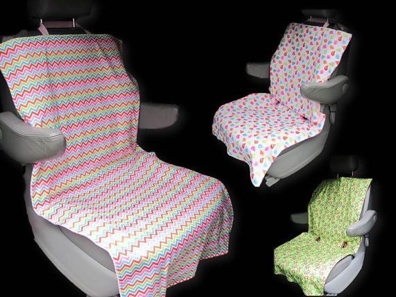Auto Seat Protector - Car Seat Protector - Seat Cover - Reversible & Water Resistant
