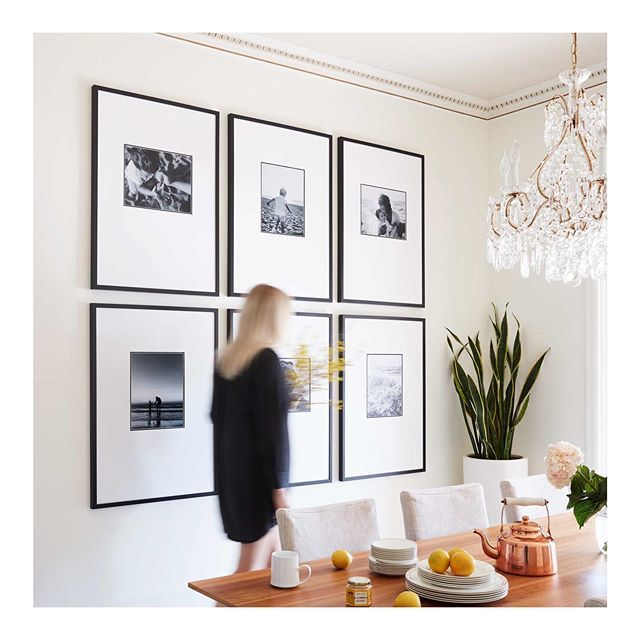 Grid Gallery Wall Homedecor Art Dining Room Picture Wall
