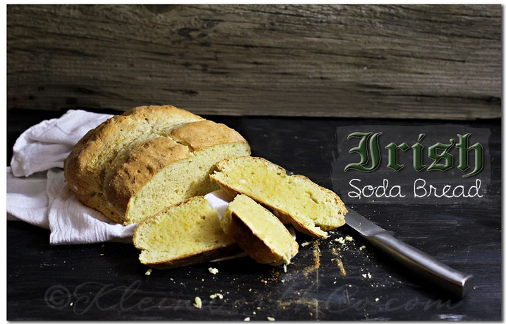 St. Patricks Day Irish Soda Bread {Recipe} from @ Kleinworth & Co.