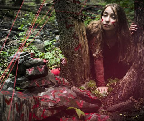 jackie forest crawl red