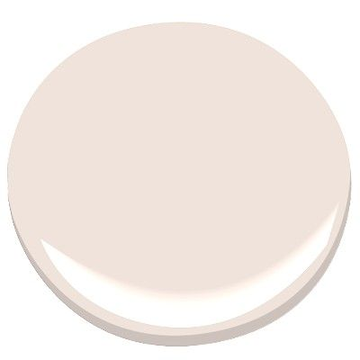 Benjamin Moore's Melted Ice Cream....the perfect pale pink