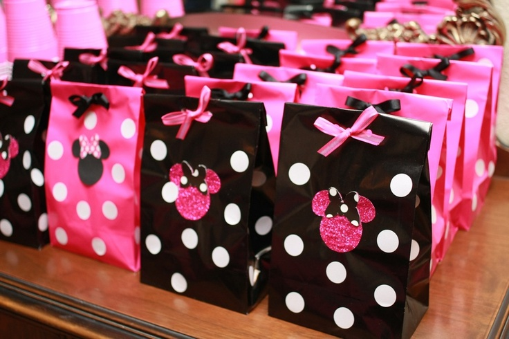 Minnie bags EASY TO MAKE