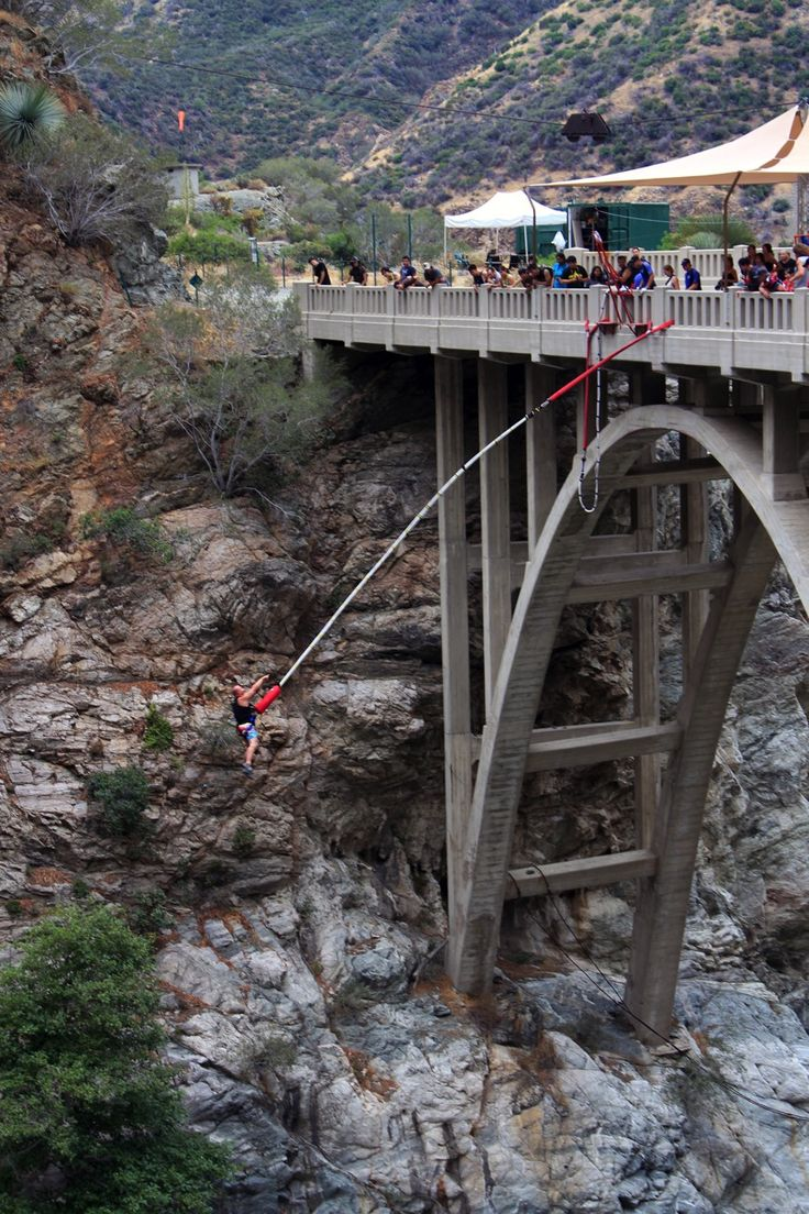 Bungee jump off the Bridge to Nowhere.