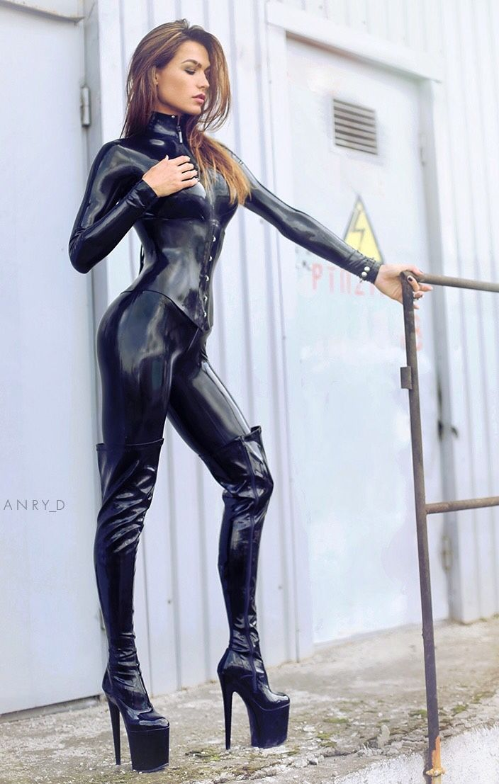 "latexfotoblog: ""Natasha from Russia☑️☑️☑️ full latex outfit ""                                                                                                                                                                                 More"