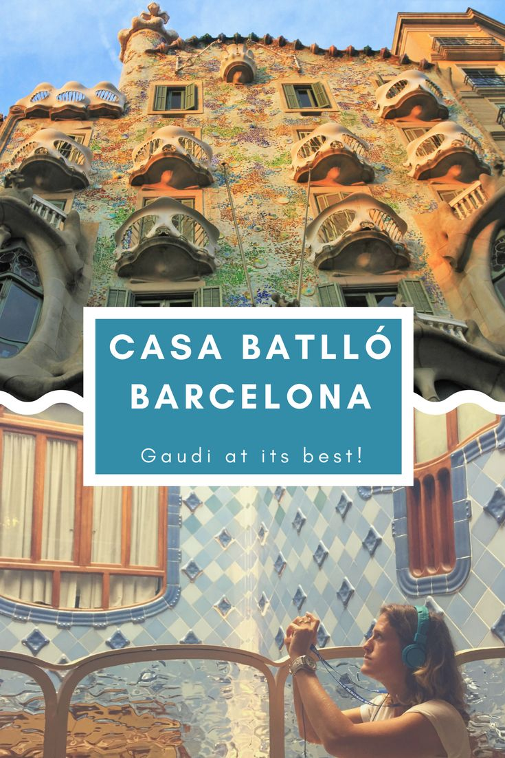 Our absolute favourite in Barcelona. Don't miss this highlight as it is Gaudi at its best! Experience Casa Batllo through augmented reality and discover all the ins and outs of this fantastic building featuring great modernis architecture. Save this pin to get our travel tips and inspiring pictures. Happy travels and a great city trip!