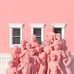 ALLOVER PINK• Pink inspiration via @venusmansion #joujouvilleoroy #pink