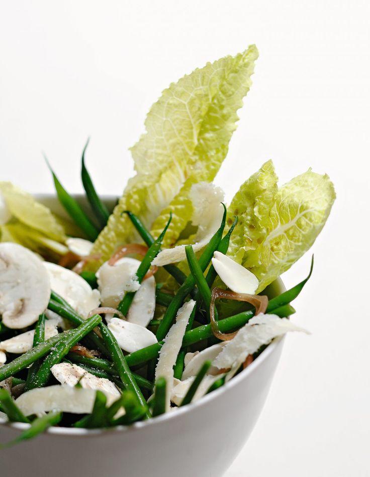 Recette de salade de haricots verts par Alain Ducasse