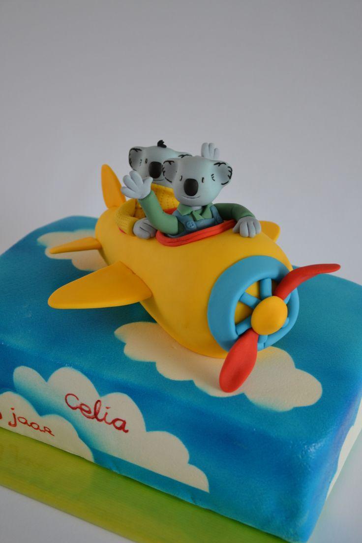 Koala Brothers Cake Baby Birthday Cake Pinterest