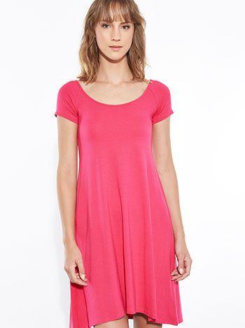 ελαστικό Κλος φόρεμα φούξια