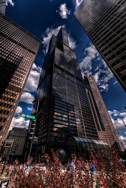 Fantastic capture. Sears (Willis) Tower, Chicago, IL