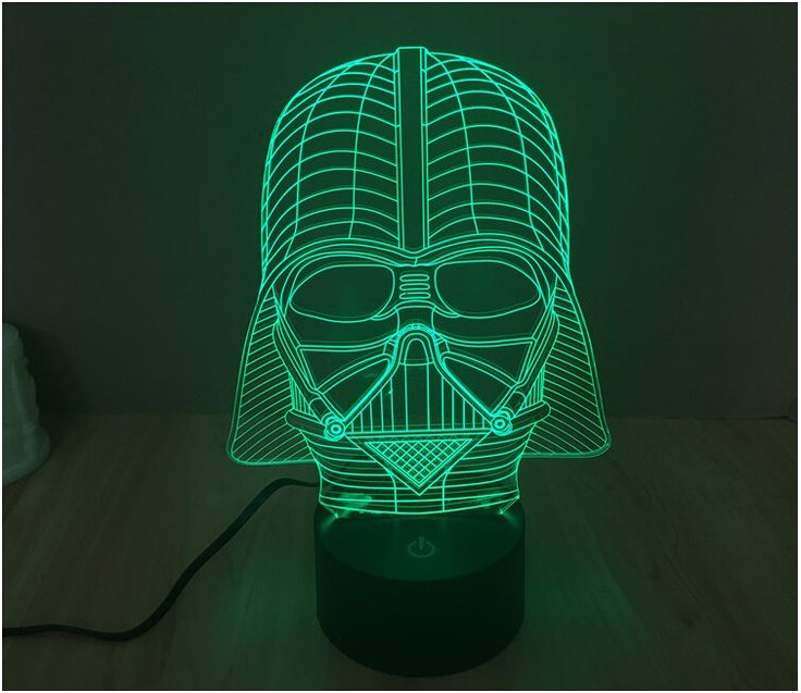 Star Wars 3D Led Night Light