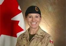 As mentioned elsewhere, women have served in combat roles in all services of the Canadian Armed Forces. This female Canadian soldier was killed in Afghanistan