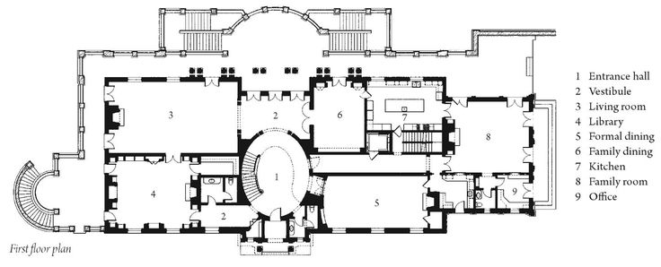 A v d mansions rosewood estate in bel air ca survey of for Rosewood house plan