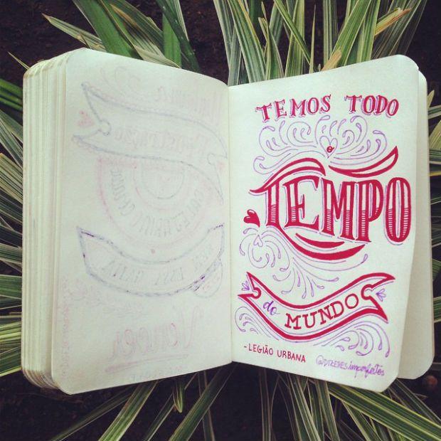 Dizeres imperfeitos é um projeto autoral de Felipe Ambrosio que traz frases tipográficas com letterings exclusivos. Conheca a ideia e encomende o seu!
