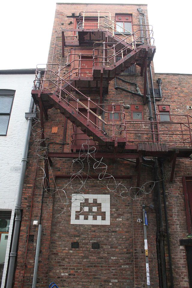 Manchester Space Invader - Invader (artist) - Wikipedia, the free encyclopedia