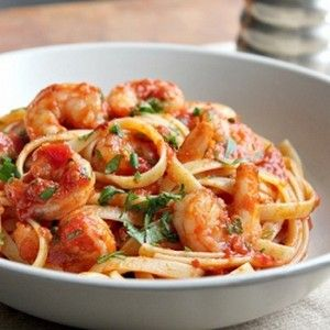 This looks fabulous, have some shrimp in the freezer, might just make this for the weekend!  Shrimp Fra Diavolo or Shrimp in a Spicy Red Sauce with Lots of Garlic! Fast, simple, delicious!