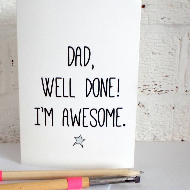 'Well Done' Father's Day Card                                       ...