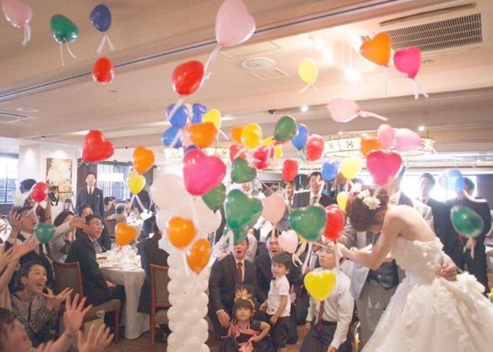 結婚式披露宴演出!バルーンスパークとは