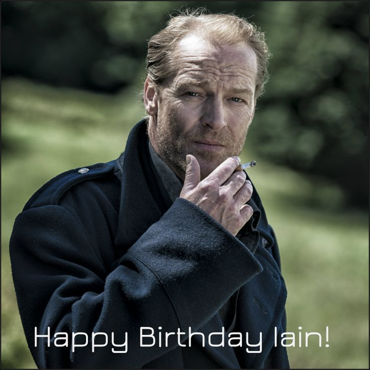 24th June - Happy Birthday to Iain Glen star of Game of Thrones and Jack Taylor!