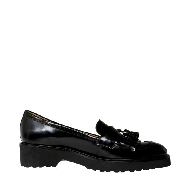 Rizzo Vissa loafers i skinn