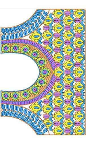 Latest Saree Blouse Embroidery Design