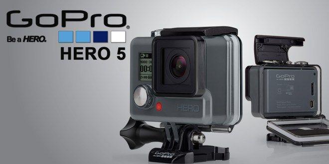 Go Pro 5 sizin için tasarlandı!