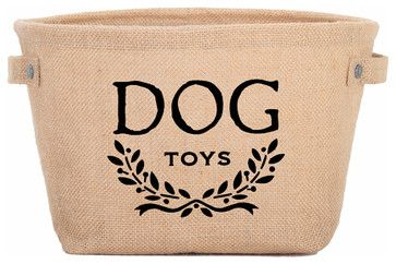 Eco Dog Toy Storage Bag transitional-pet-toys