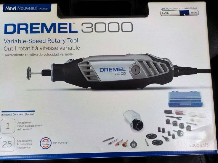 Rotary Tools 177003: Dremel 3000-1 25H Corded Polishing Variable Speed 28 Pc. Kit *New* -> BUY IT NOW ONLY: $49 on eBay!