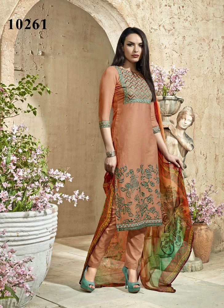 Ethnic Anarkali Indian Salwar Designer Pakistani Bollywood Suit Partydress Blush…
