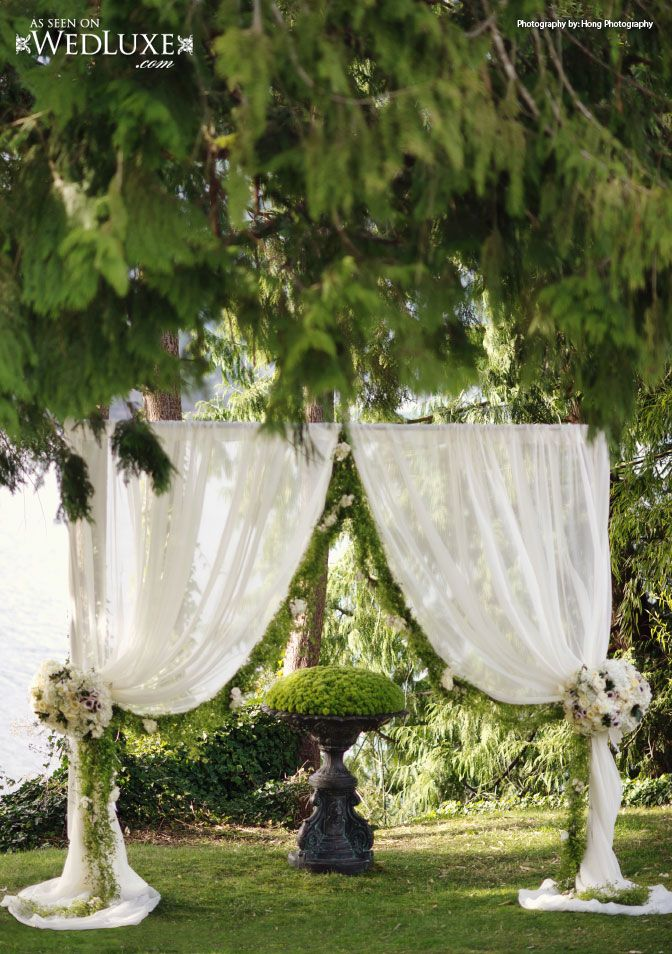 165 best images about wedding decor ideas on pinterest for Outdoor wedding ceremony decorations pictures