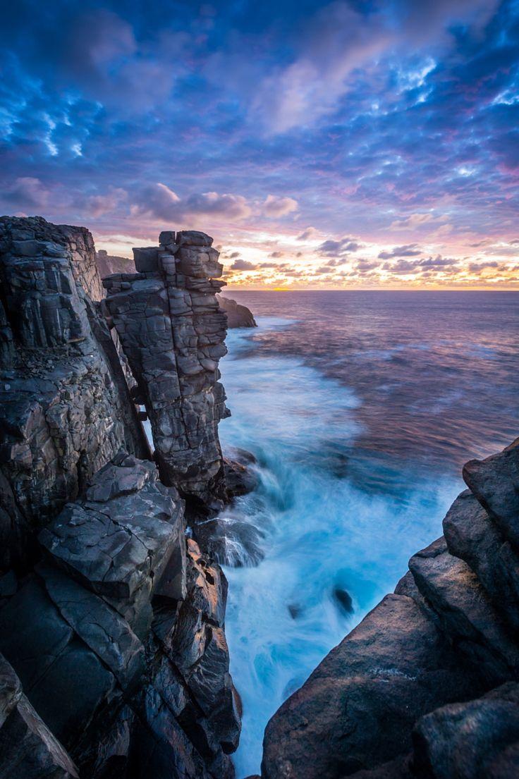 ~~Cliffs at sunset | Shelley Beach, Albany, Australia | by Luke Hetherington~~