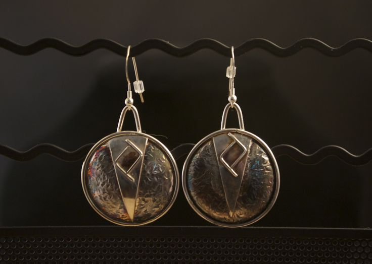 Twin Peaks  -- just one example of one-of-a-kind silver jewellery made by Ron Smith. See more at www.silverbysmith.ca