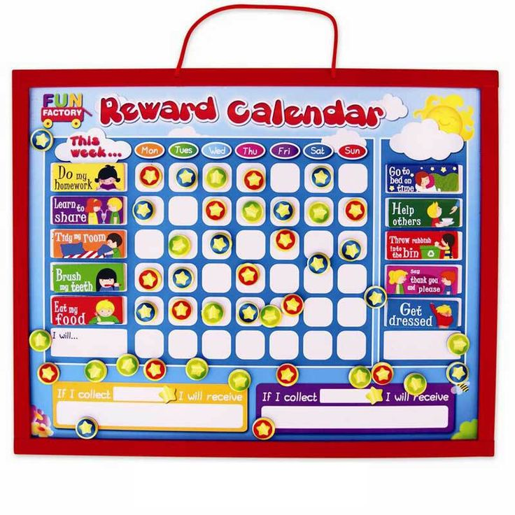 Buy Wooden Magnetic My First Reward Chart Online at Toy Universe