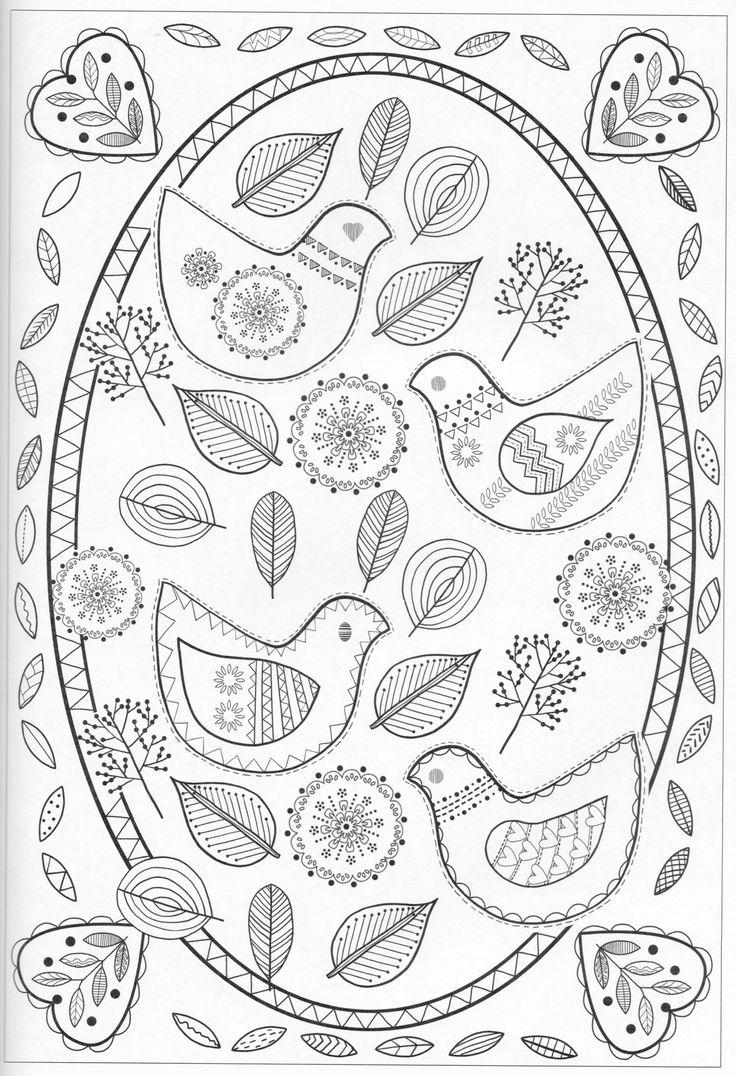 Scandinavian Coloring Book Pg 33