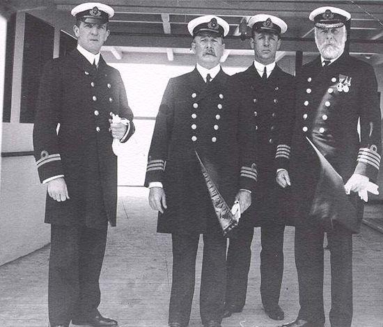 Original Titanic crew, 1912